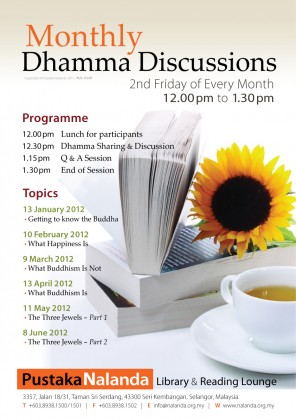 Monthly Dhamma Discussion