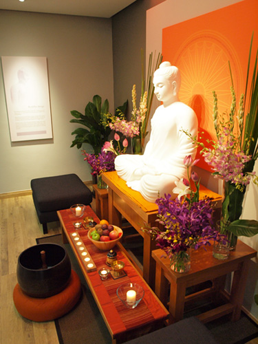 The Buddha Altar at NEO Centre
