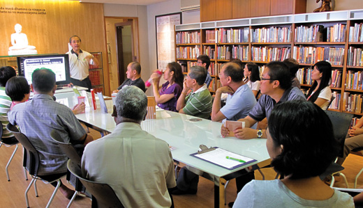 Monthly Dhamma Discussions