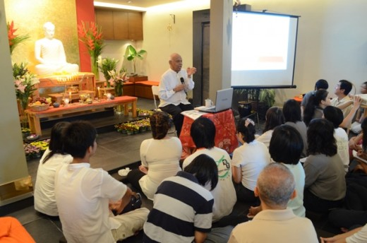 Wesak Day Dhamma Talk