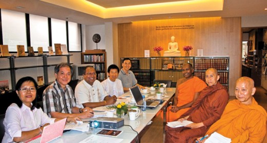 Nalanda hosts Theravada Council Meeting